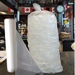 5 LB ICE BAGS ON ROLLS  with Free Twist Ties 400/Roll 1600/Case