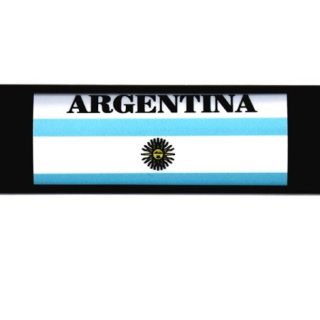 RE-USABLE SLIDE IN FLAG ARGENTINA