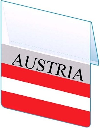 RE-USABLE PROMO FLAG AUSTRIA