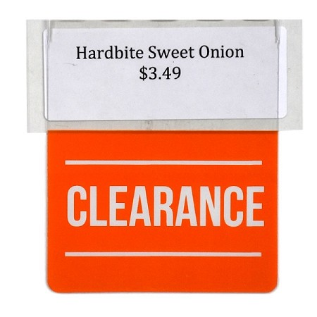 CLEARANCE RE-USABLE PROMO TAG