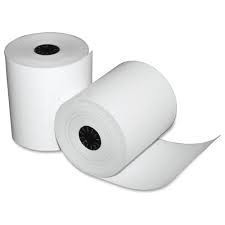 "2 1/4"" x 1.5""-60' Thermal Paper Rolls 100/case BPA FREE"