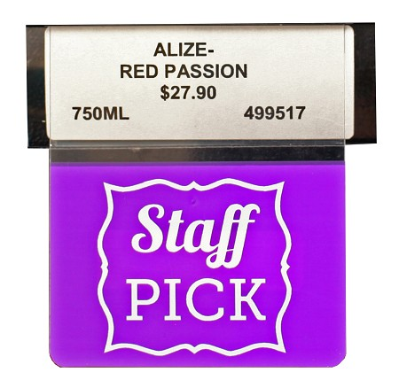 STAFF PICK REUSABLE PROMO TAG