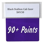 90+ Points Reusable Promo Tag