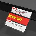 DOUBLE BLOW OUT REUSABLE PROMO TAG-NO ARROW 4