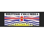 RE-USABLE SLIDE IN FLAG BRITISH COLUMBIA