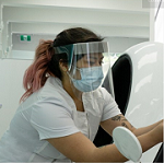 PPE Lightweight PVC Plastic Face Guard
