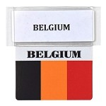 RE-USABLE PROMO FLAG BELGIUM