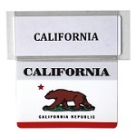 RE-USABLE PROMO FLAG CALIFORNIA