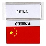 RE-USABLE PROMO FLAG CHINA