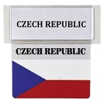 RE-USABLE PROMO FLAG CZECH