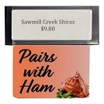PAIRS WITH HAM RE-USABLE PROMO TAG