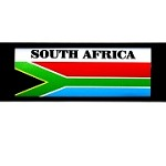 RE-USABLE SLIDE IN FLAG SOUTH AFRICA