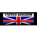 RE-USABLE SLIDE IN FLAG UNITED KINGDOM